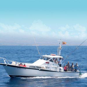 Bateau de pêche sportive